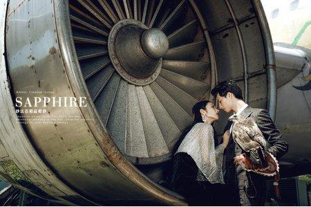 初夏物語 / 紗法亞精品婚紗Sapphire Wedding