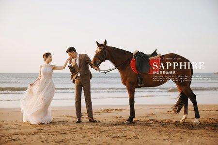 海 /紗法亞精品婚紗sapphire wedding婚紗相本
