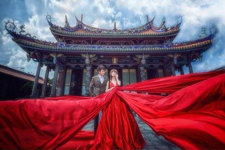 赤地之戀 /紗法亞精品婚紗Sapphire Wedding