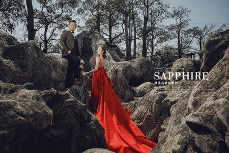 新人婚紗照 /紗法亞精品婚紗Sapphire Wedding