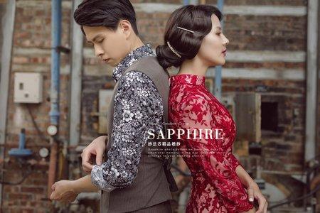 最新客人婚照/紗法亞精品婚紗Sapphire Wedding