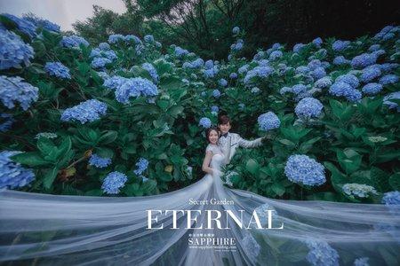 繡球花海/紗法亞精品婚紗Sapphire Wedding