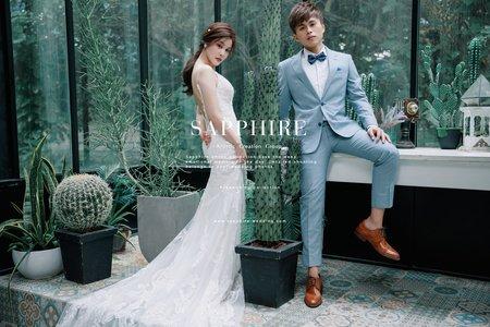 最新新人婚紗照 /紗法亞精品婚紗Sapphire Wedding