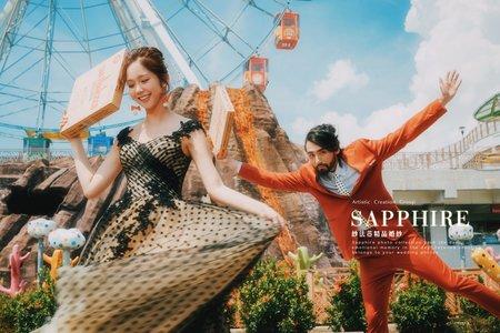 異想漂浮樂園 [遊樂園系列] /紗法亞精品婚紗Sapphire Wedding