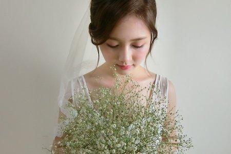 白紗常用造型