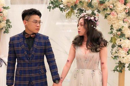 2019_婚宴造型_新秘喬喬