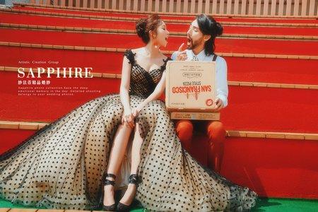 拍照婚紗單租 / 紗法亞精品婚紗Sapphire Wedding