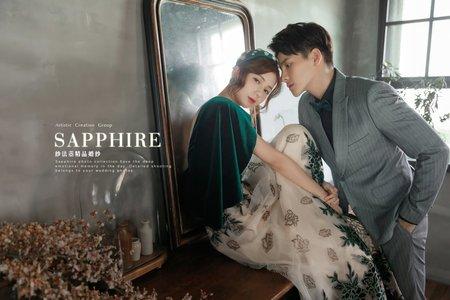 法式迷戀 /紗法亞精品婚紗Sapphire Wedding