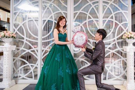 政倫瑋庭 迎娶喜宴@米爾餐廳