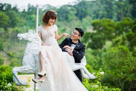 智華雅琁 婚紗拍攝