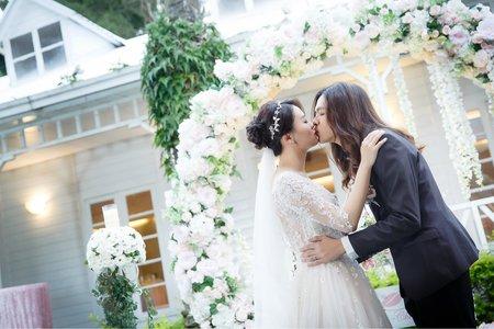 [婚禮攝影]Herman & Erica教堂儀式晚宴@青青時尚會館