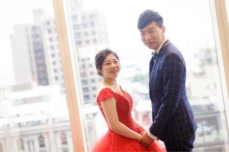 [婚禮攝影]文興文心 文定午宴@台中林酒店