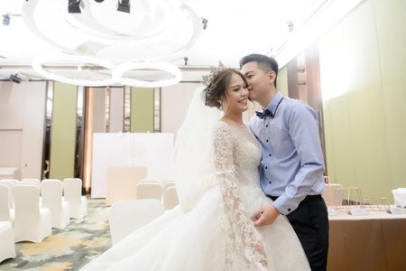 [婚禮攝影]博揚沛霏 迎娶午宴@希爾頓飯店