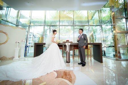 [婚禮攝影]明偉彩蓉 文定迎娶午宴@新店頤品飯店