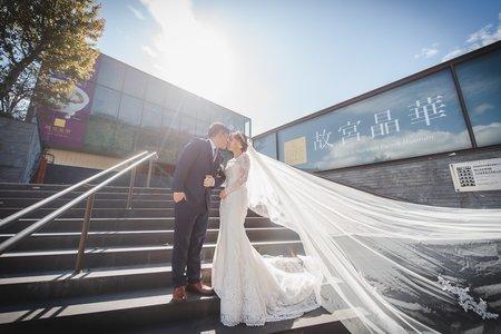 [婚禮攝影]治綱珍綾 幸福喜宴@故宮晶華