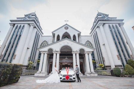 [婚禮攝影]右丞昱伶 教堂儀式午宴@晶滿屏東儷宴會館