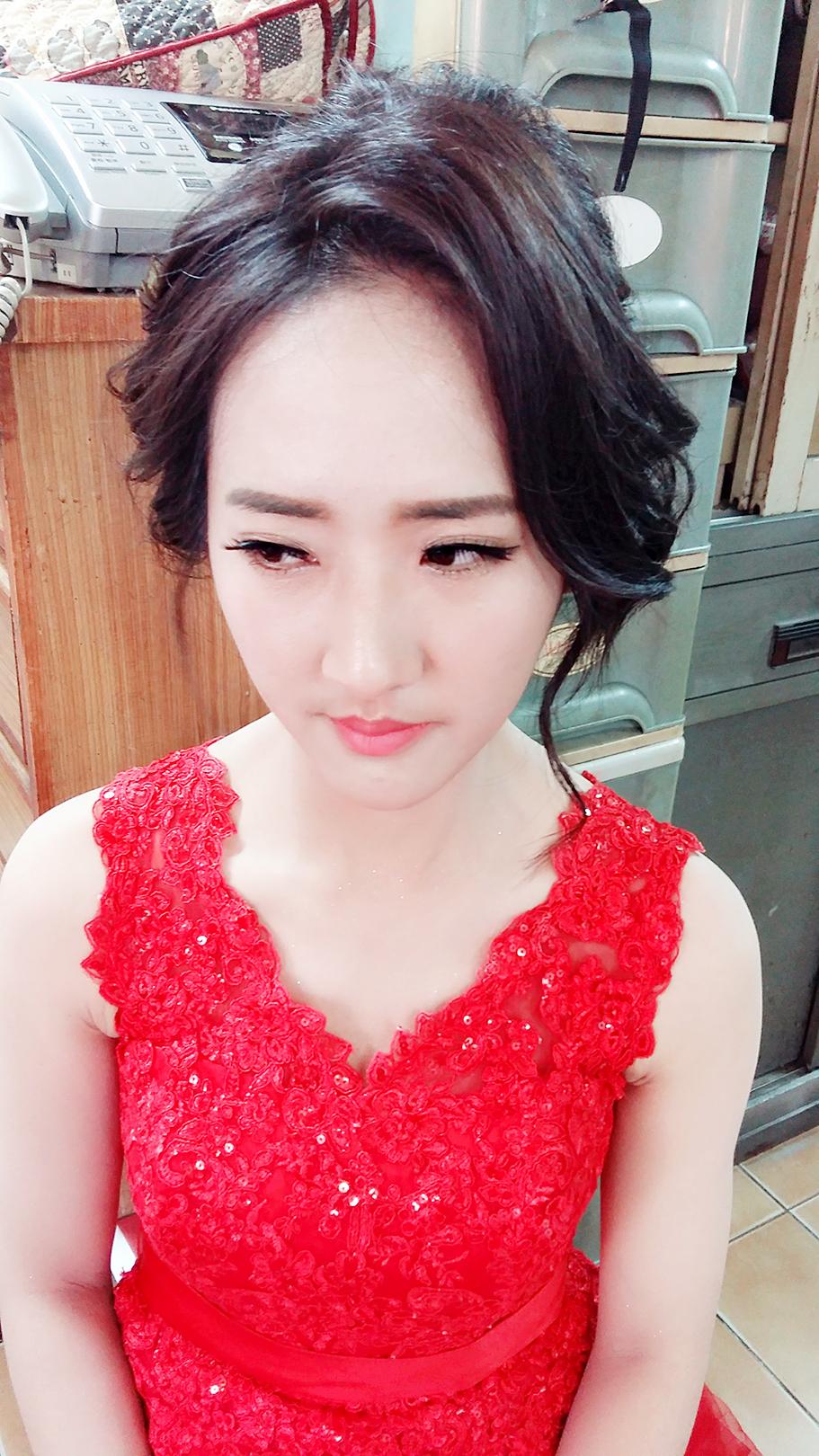 小安訂婚儀式 - Eva Lee 小確幸 新娘秘書造型《結婚吧》
