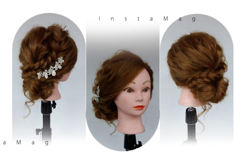 辮子低盤髮 - Eva Lee 小確幸 新娘秘書造型《結婚吧》