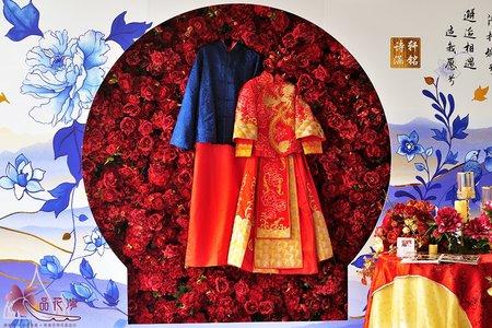台北徐州路二號 中國風紅花牆