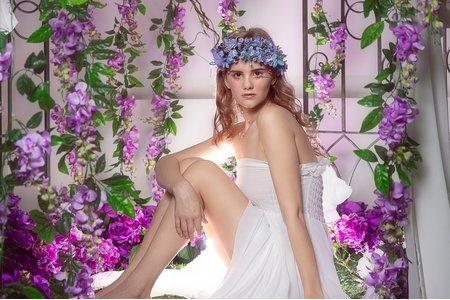 品花灣-紫色花床