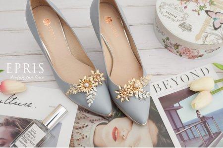 勇敢追求太陽花之戀飾扣鞋夾-EPRIS艾佩絲