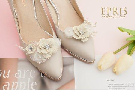 梨花海棠守護幸福飾扣鞋扣 -EPRIS艾佩絲