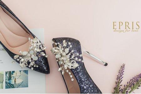 翩翩起舞蝴蝶花飾扣鞋扣 -EPRIS艾佩絲