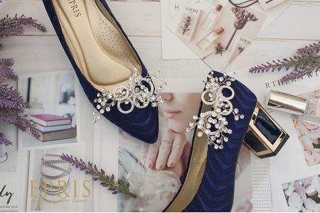 永恆真愛滿天星飾扣鞋扣 -EPRIS艾佩絲