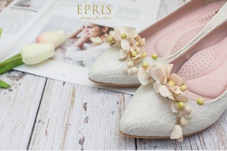 純真幸福天使花鞋扣鞋夾配飾-EPRIS艾佩絲