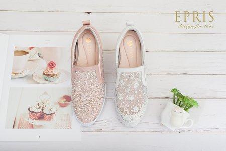 增高平底婚鞋-EPRIS艾佩絲