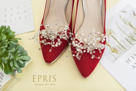 無比的幸福 水晶草飾扣-EPRIS艾佩絲