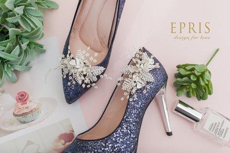 守護愛情 叢林小花飾扣鞋扣 -EPRIS艾佩絲