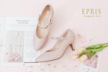 尖頭瑪莉珍鞋 百變女神 一鞋多穿婚鞋 氣質甜美婚鞋-EPRIS艾佩絲