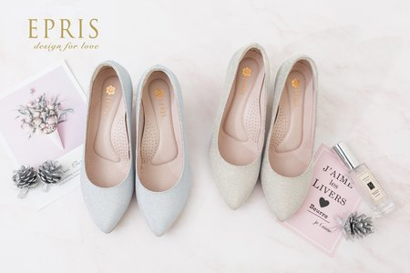氣質夢幻婚鞋 空靈女神 優雅跟鞋-EPRIS艾佩絲