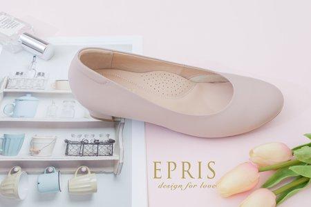 大尺碼婚鞋 素面低跟鞋-EPRIS艾佩絲