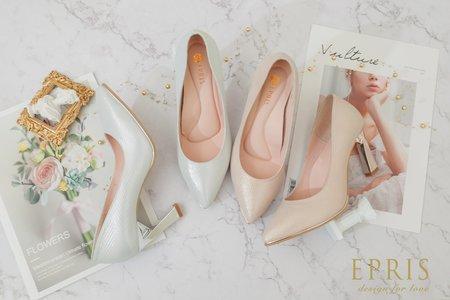 手作婚鞋推薦 北歐風女神 優雅曲線時尚美鞋-EPRIS艾佩絲