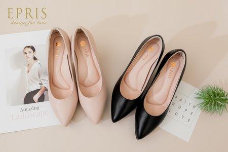 素面尖頭高跟鞋 OL上班鞋尖頭系列8公分 -EPRIS艾佩絲