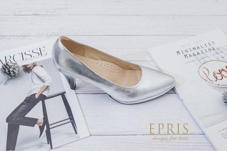 銀色高跟鞋推薦 時尚女神 銀色婚鞋-EPRIS艾佩絲