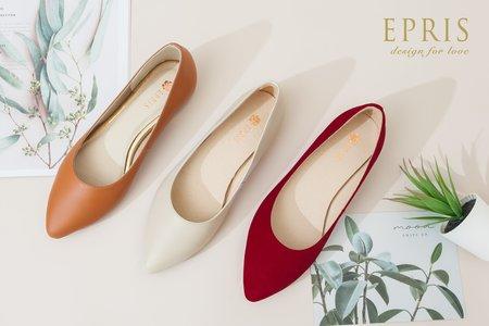 蓋婭 大地女神 尖頭平底鞋推薦-EPRIS艾佩絲