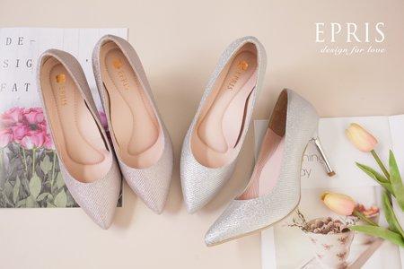 裸婚鞋 性感尖頭細跟鞋-EPRIS艾佩絲