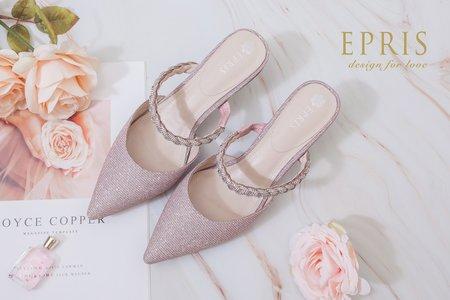 小公主 尖頭簍空低跟鞋-EPRIS艾佩絲