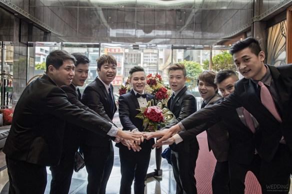 [婚禮紀錄]in 中壢米堤大飯店&新莊晶華亭(編號:469860) - J&E Image Studio - 結婚吧