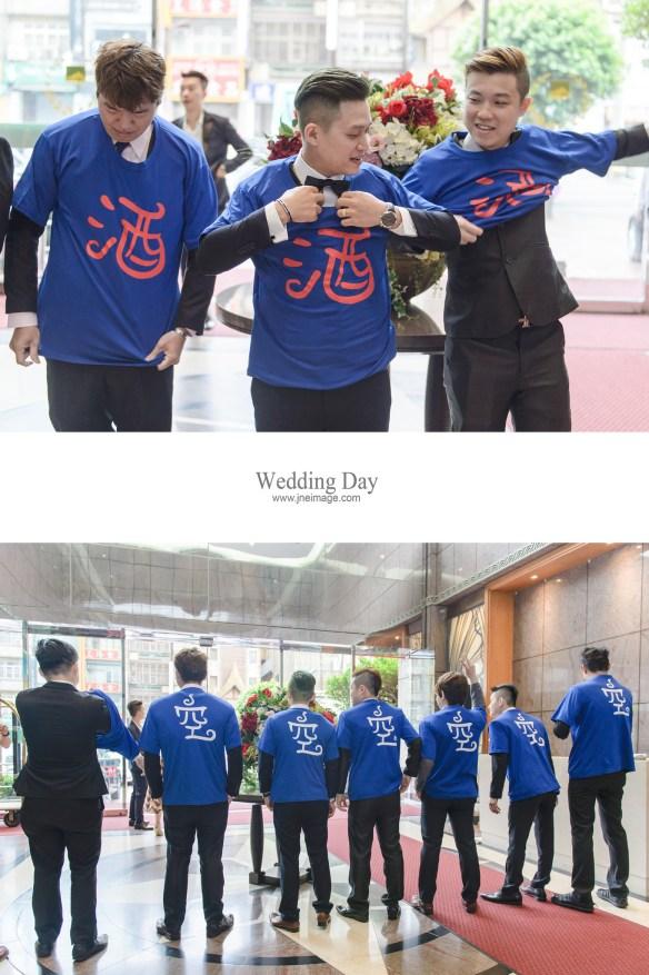 [婚禮紀錄]in 中壢米堤大飯店&新莊晶華亭(編號:469861) - J&E Image Studio - 結婚吧