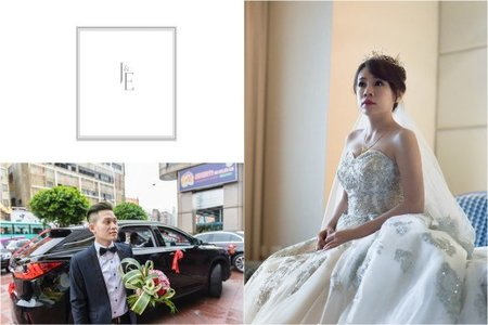 [婚禮紀錄]in 中壢米堤大飯店&新莊晶華亭