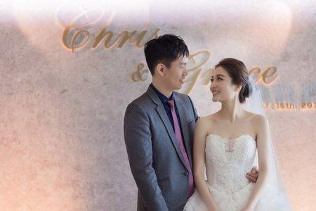 [婚禮紀錄] Chris & Greac in 頂鮮101美食美景餐廳 Taipei101 86F