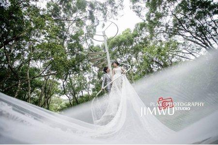 Jimwu玩拍攝影像工作室婚紗特輯3