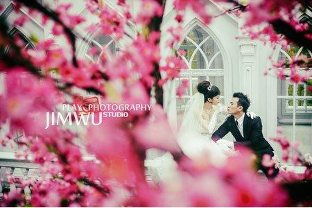 Jimwu玩拍攝影像工作室婚紗特輯精選