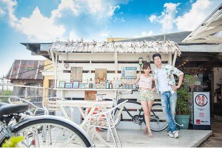 Jimwu玩拍攝影像工作室海外沖繩婚紗