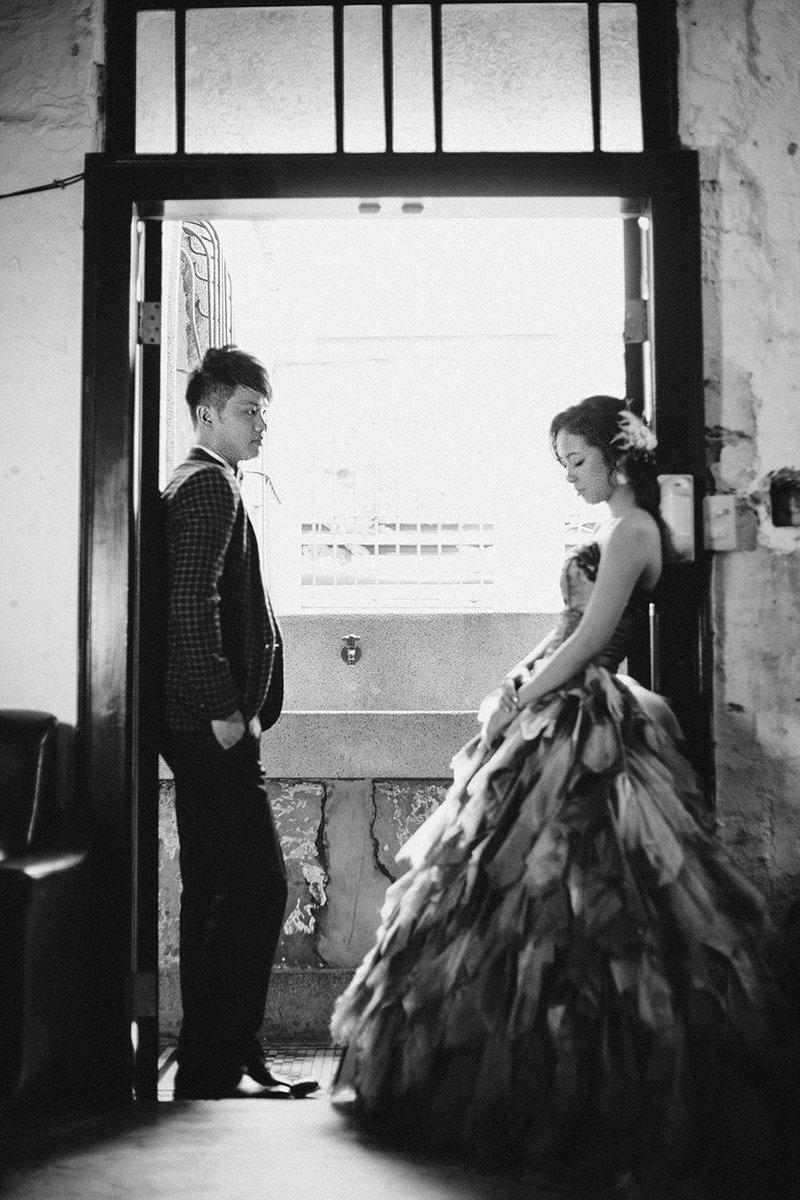 J&C快拍慢想  愛經典婚紗作品