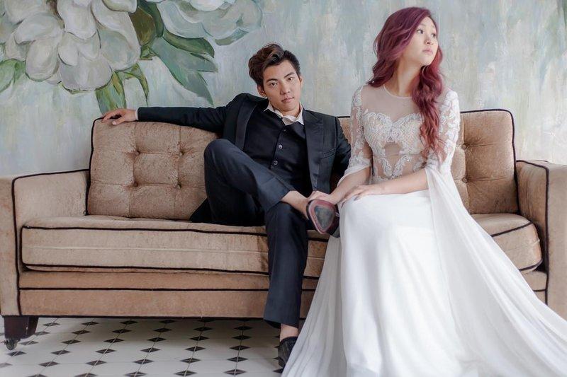 J&C慢拍快想 雙輕柔婚紗作品